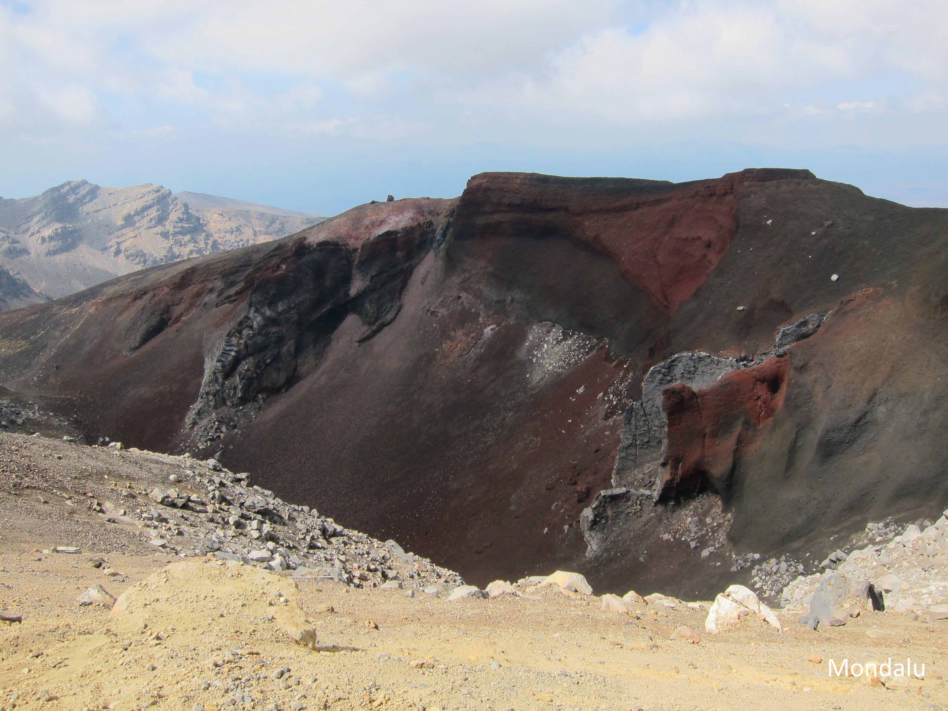 Sommet du Cratère Rouge
