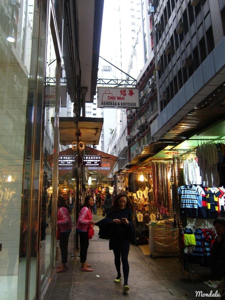Shopping à Hong-Kong