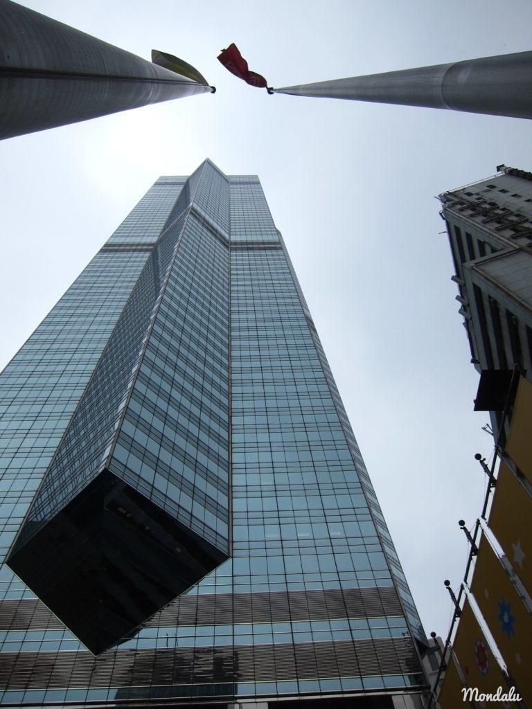 Quartier d'affaire à Hong-Kong