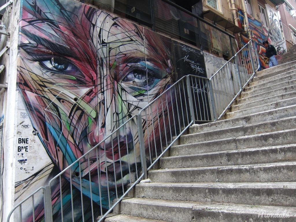 Street-art à Hong-Kong