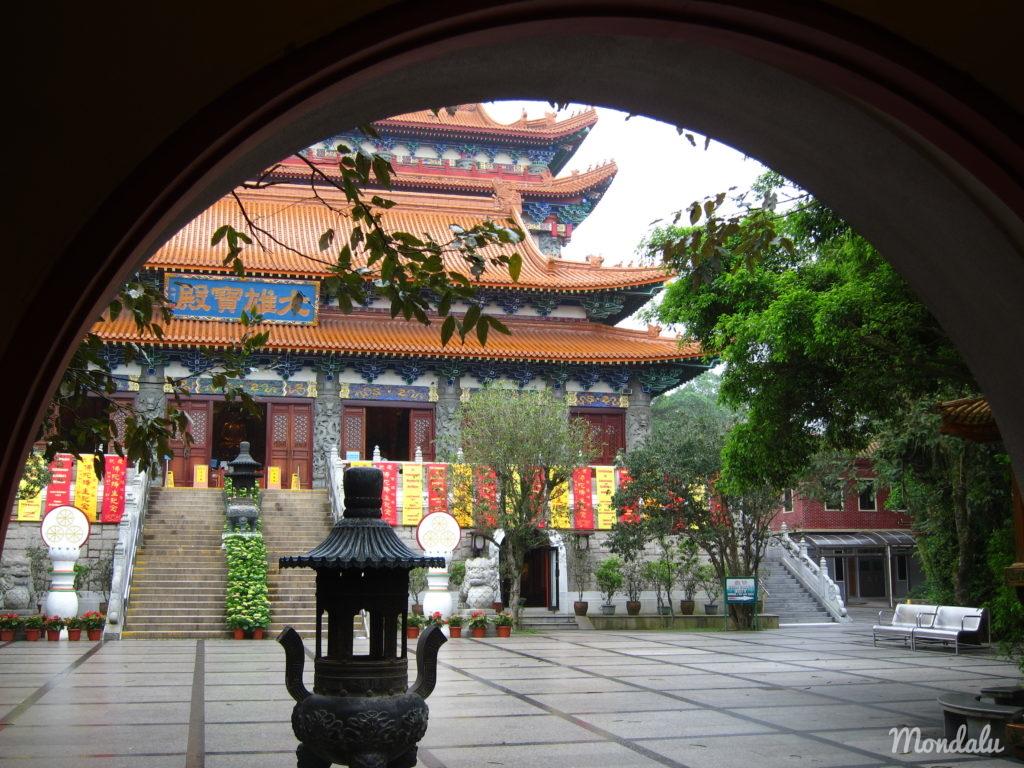 Monastère de Po Lin à Hong-Kong