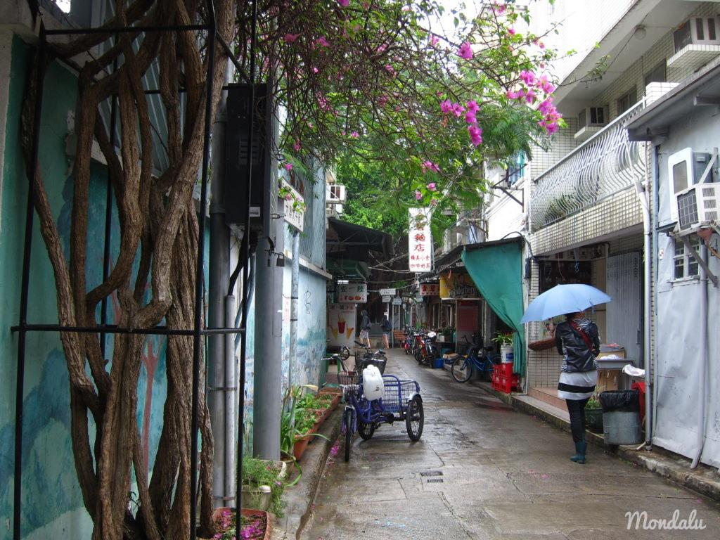 Dans les ruelles de Tai O