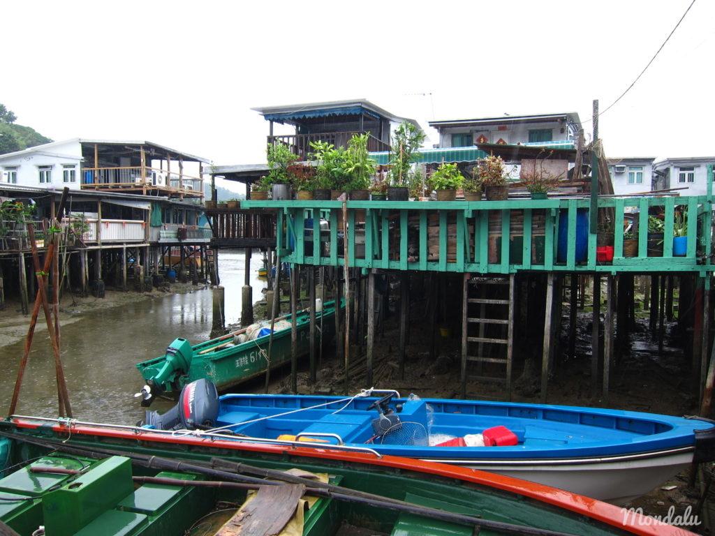 Village sur pilotis de Tai O
