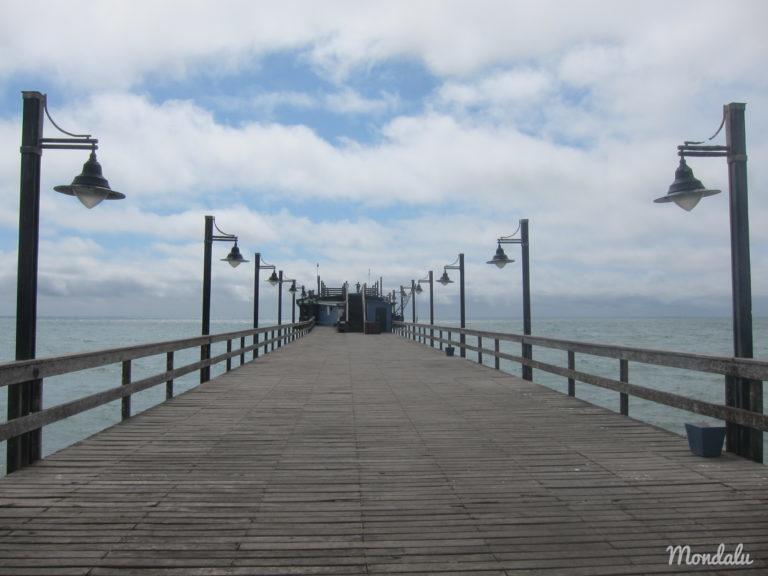 Swakopmund et l'océan